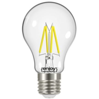 Λάμπα LED FILLAMENT CLEAR A60 θερμό λευκό EL822601