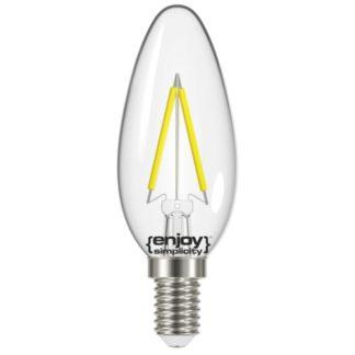 Λάμπα LED FILLAMENT CLEAR B352 2.6W θερμό λευκό EL822351