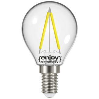Λάμπα LED FILLAMENT CLEAR P45 2.6W θερμό λευκό EL822451