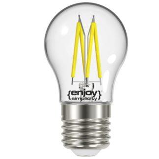 Λάμπα LED FILLAMENT CLEAR P45-4 4.2W θερμό λευκό EL822454
