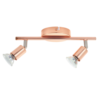 Σποτ οροφής-τοίχου δίφωτο BUZZ-COPPER 94773