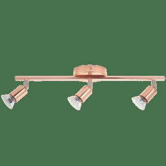 Σποτ οροφής-τοίχου τρίφωτο BUZZ-COPPER 94774