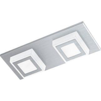 Φωτιστικό οροφής-τοίχου δίφωτο MASIANO 94506