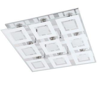 Φωτιστικό οροφής-τοίχου εννιάφωτο ALMANA 94227