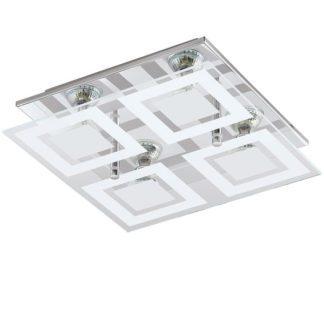 Φωτιστικό οροφής-τοίχου τετράφωτο ALMANA 94226