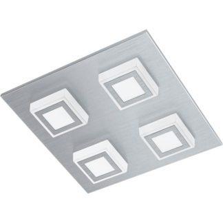 Φωτιστικό οροφής-τοίχου τετράφωτο MASIANO 94508