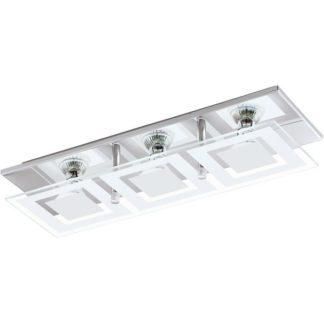 Φωτιστικό οροφής-τοίχου τρίφωτο ALMANA 94225