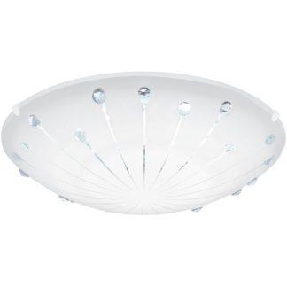 Φωτιστικό οροφής-τοίχου MARGITTA1 96113 με κρυστάλλους
