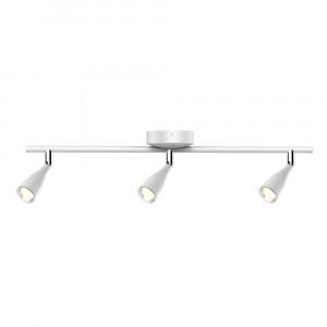 LED φωτιστικό οροφής τριπλό 13.5W 4000K Φυσικό λευκό Λευκό σώμα VTAC 8272