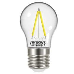 LED FILLAMENT CLEAR P45-2 2.6W θερμό λευκό EL822453