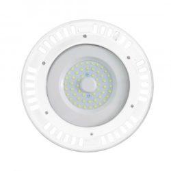 Καμπάνα LED UFO 100W 3000K Θερμό λευκό 120° με λευκό σώμα VTAC 5612