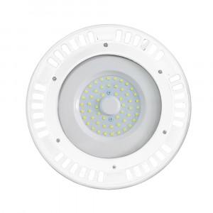 Καμπάνα LED UFO 50W 6400K Λευκό 120° με λευκό σώμα VTAC 5611