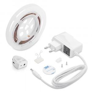 Σετ εύκαμπτης ταινίας LED με αισθητήρα κίνησης για μονό κρεβάτι 3000K Θερμό λευκό VTAC 2548