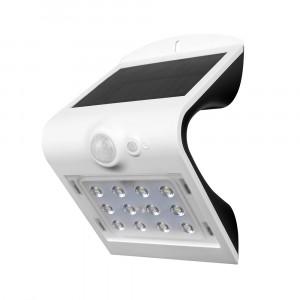 LED ηλιακό φωτιστικό 1.5W 4000K Φυσικό λευκό με λευκό σώμα VTAC 8276