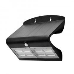 LED ηλιακό φωτιστικό 6.8W 4000K Φυσικό λευκό με μαύρο σώμα VTAC 8279