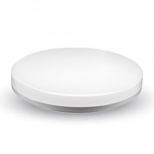 LED πλαφονιερα ή απλίκα 15W Στρογγυλό 6000K Λευκό Λευκό σώμα VTAC 1389