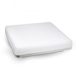 LED πλαφονιερα ή απλίκα 15W Τετράγωνο 6000K Λευκό Λευκό σώμα VTAC 1391