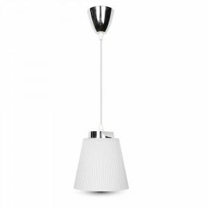 LED φωτιστικό γραφείου 7W Φυσικό λευκό με Ασημί,λευκό σώμα VTAC 8505