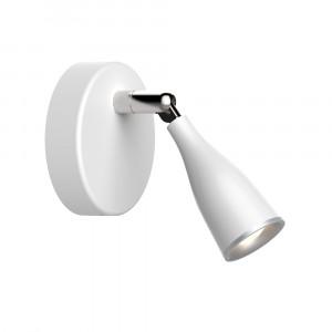 LED φωτιστικό οροφής ή τοίχου μονό 4.5W 3000K Θερμό λευκό Λευκό σώμα VTAC 8262