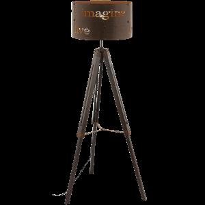 Επιδαπέδιο φωτιστικό COLDINGHAM 49793 σε χρώμα σκουριάς Ø430mm