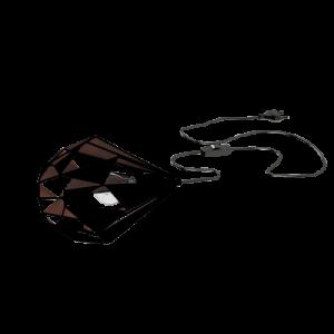 Επιτραπέζιο φωτιστικό CARLTON 1 49993 μαύρο με χάλκινο