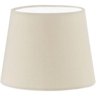 Καπέλο φωτιστικού VINTAGE 49402 από ύφασμα σε μπεζ χρώμα Ø155mm