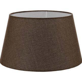 Καπέλο φωτιστικού VINTAGE 49656 από λινό ύφασμα σε χρώμα καφέ Ø400mm