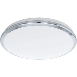 Φωτιστικό οροφής-τοίχου MANILVA 93497 LED Ø385mm χρωμιομένο ατσάλι