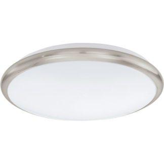 Φωτιστικό οροφής-τοίχου MANILVA 93498 LED Ø300mm σατινέ νίκελ