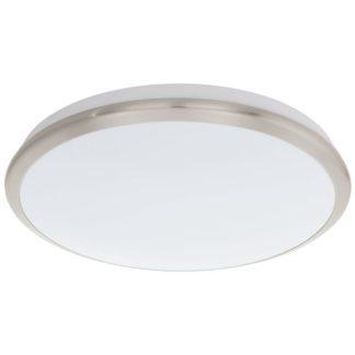 Φωτιστικό οροφής-τοίχου MANILVA 93499 LED Ø385mm ματ νίκελ