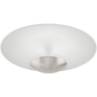 Φωτιστικό οροφής TORONJA 95486 ματ νίκελ και λευκό ατσάλι