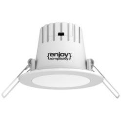 LED σποτ Φ 90xh58 mm 3.3W 4000k EL191124