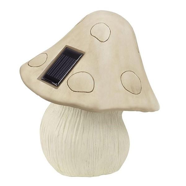 Eglo Ηλιακό Φωτιστικό LED 2x0.015W Δαπέδου Σε Σχήμα Μανιτάρι 47104
