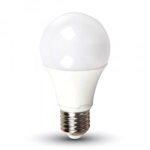 Λάμπα LED E27 A58 Samsung Chip SMD 9W Ψυχρό λευκό 6400K vtac 158