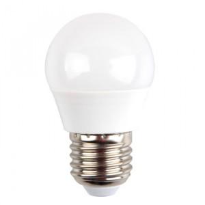 Λάμπα LED E27 G45 SMD 5.5W Θερμό λευκό 2700K Λευκό vtac 7407