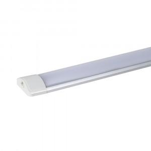 Πρισματικό φωτιστικό LED SMD 40W 1200mm Θερμό λευκό 3000K Λευκό σώμα συνδέσιμο έως 5 τμχ. vtac 6389