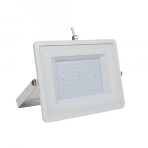 Προβολέας LED 100W Λευκό 6400K Λευκό σώμα με λευκό καλώδιο vtac 5972