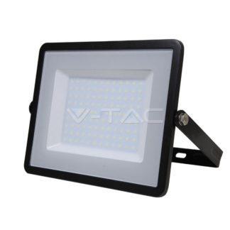 Προβολέας LED Samsung chip 100W Λευκό 6400K Μαύρο σώμα vtac 414.
