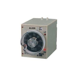 Αναλογικό χρονικό οκτάποδης βάσης με επιλογέα χρόνου 2 επαφές τάση 230VAC τύπος STP3Αναλογικό χρονικό οκτάποδης βάσης με επιλογέα χρόνου 2 επαφές τάση 230VAC τύπος STP3