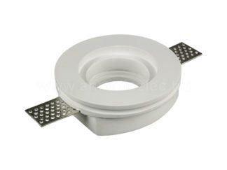 Γύψινο χωνευτό φωτιστικό Spot GU10 Στρογγυλό Λευκό σώμα V-TAC 3652