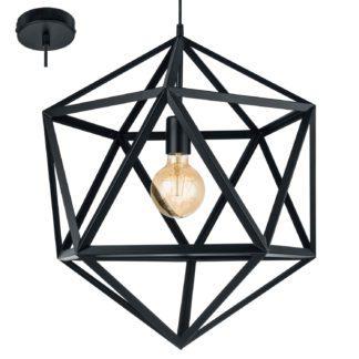 Κρεμαστό Φωτιστικό Embleton 49762 μαύρο