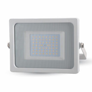 Προβολέας LED 50W Λευκό 6400K Λευκό σώμα 5827