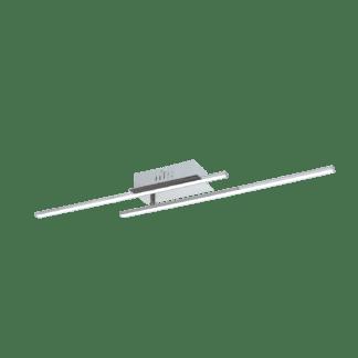 Φωτιστικό Οροφής LED 2x6W Χρώμιο & Λευκό Parri 96315