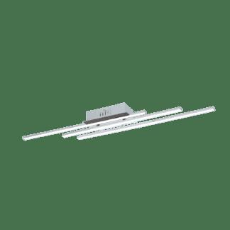 Φωτιστικό Οροφής LED 3x6W Χρώμιο & Λευκό Parri 96316