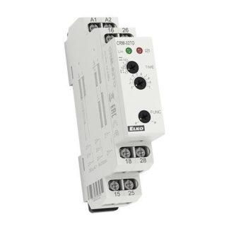 Χρονικό (TIMER) ράγας καθυστέρησης ELKO CRM-82TO 12-240V AC-DC 1 module 8Α 309-108119016