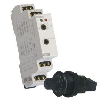 Χρονικό (timer) ράγας elkoep CRM-91HE+P πολυλειτουργικό 12-240v ac-dc 1 module 16α 10 λειτουργίες 309-108121026