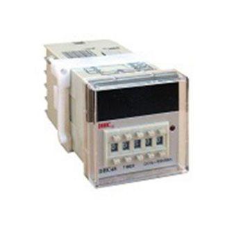 Ψηφιακό χρονικό πόρτας πίνακος 0,01sec-99,99h 2 μεταγωγικές επαφές τάση 240VAC τύπος DHC48 309-060199230