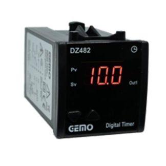 Ψηφιακό χρονικό πόρτας πίνακος 100-240vac 0.1-999min δύο επαφών DZ482 GEMO 309-070481000