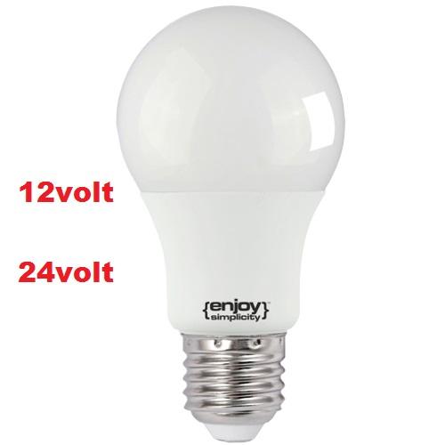 LED E27 12V +24V