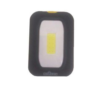 LED Φακός Με Γαντζάκι Και Μαγνήτη Σε Μαύρο Χρώμα 2W 3xAAA Universe WL164